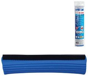 Насадка МОП для швабры самоотжимной роликовой 601466, PVA, 26 см, синяя   Лайма