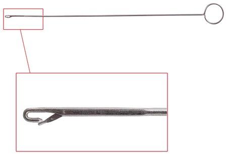 Игла для прошивки документов, с кольцом (для вывертывания), блистер  КНР