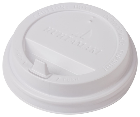 Одноразовая крышка д/стакана (диаметр d-90), 100 шт., ПС  Huhtamaki