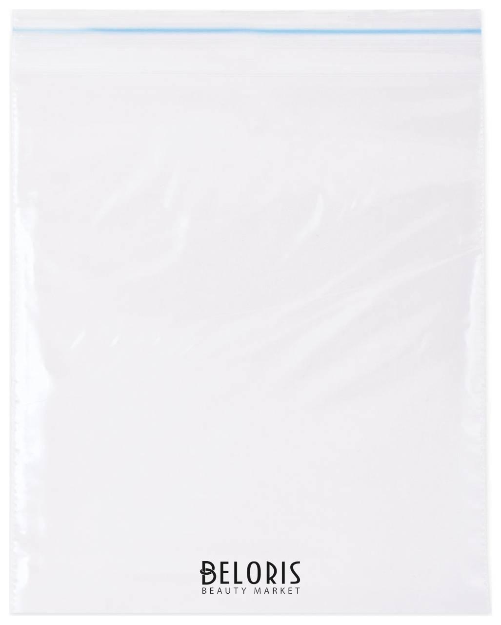 Пакеты с замком зиплок (гриппер), 100 шт., 200х250 мм, ПВД, 35 мкм КНР