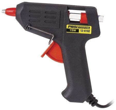 Клеевой пистолет 15 вт, для стержня 7 мм, в блистере  Proconnect