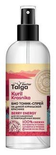 Био тоник-спрей для ослабленных и поврежденных волос Natura Siberica
