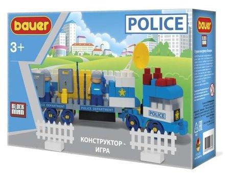 Конструктор-игра Полиция  Bauer
