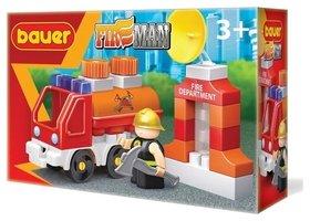 Конструктор-игра Пожарная машина с цистерной