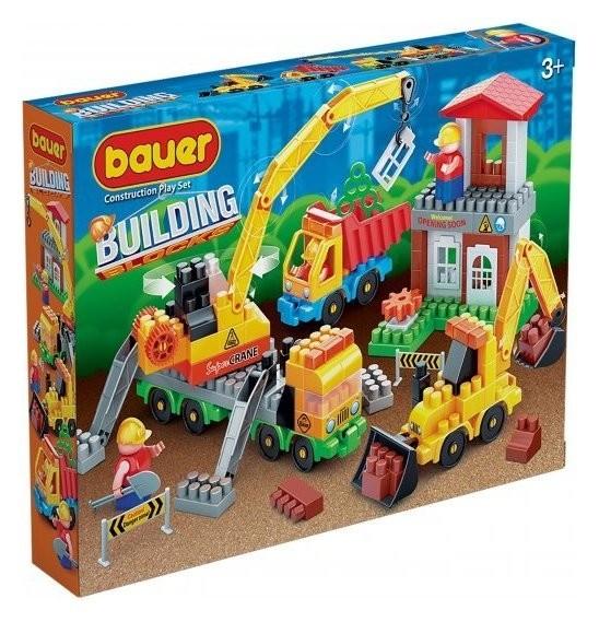 Конструктор-игра Строительная площадка  Bauer