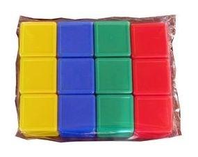 Кубики с бортиком 12 элементов  Десятое королевство