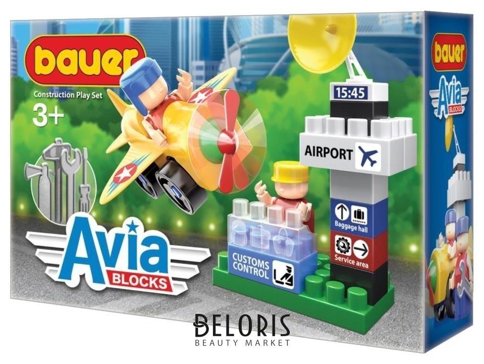 Конструктор-игра Башня диспетчера Bauer Avia