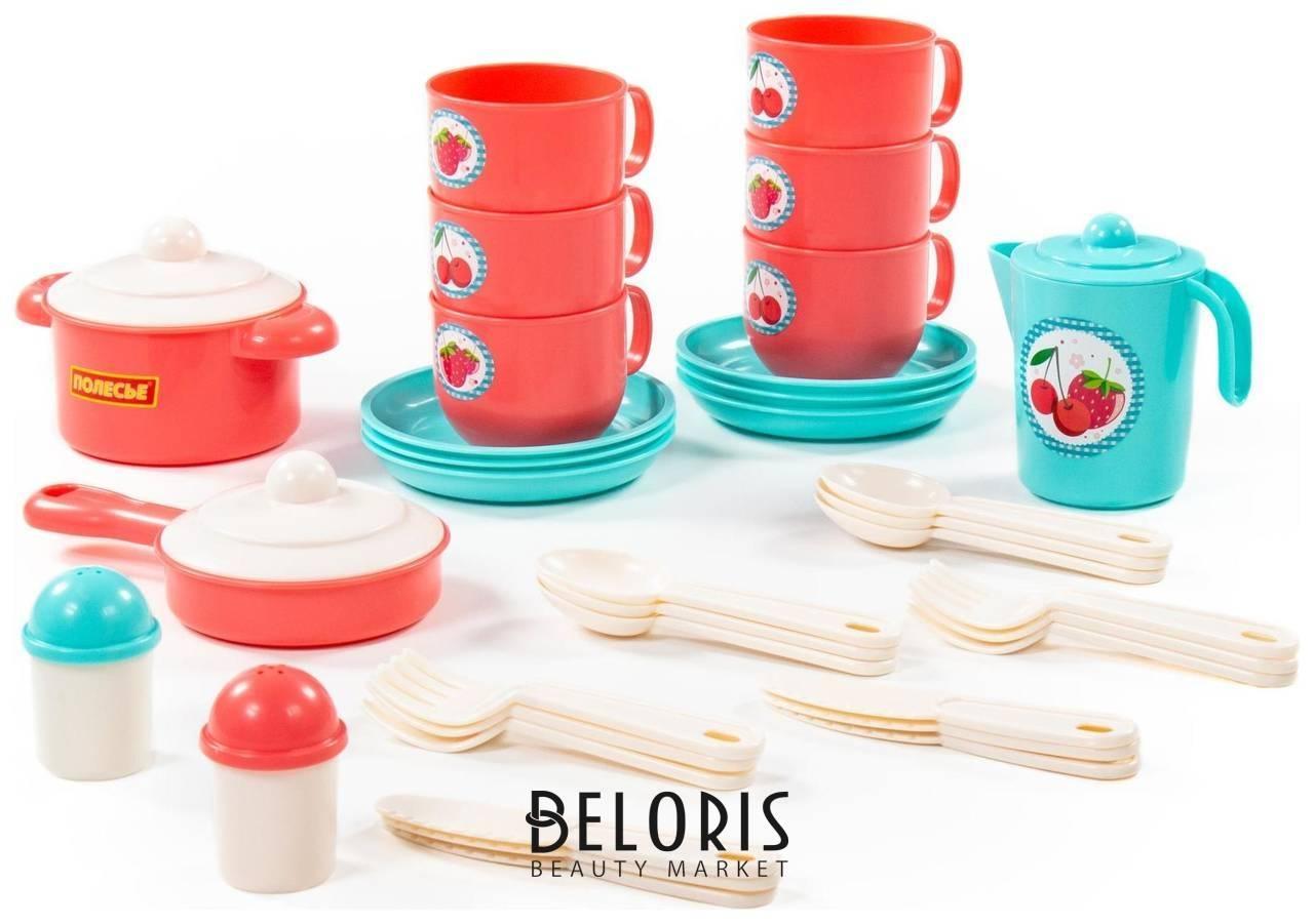 Набор детской посуды Хозяюшка на 6 персон Полесье
