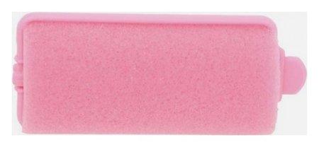 Бигуди поролоновые, розовые d 28 мм, 12 шт  Dewal