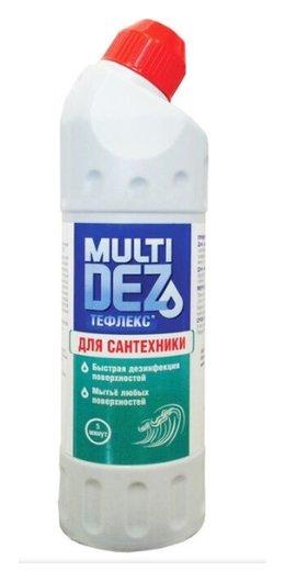 Средство для мытья и дезинфекции сантехники Мультидез Море Тефлекс