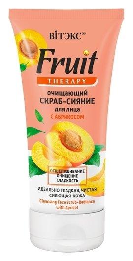 Очищающий скраб-сияние для лица с абрикосом  Белита - Витекс