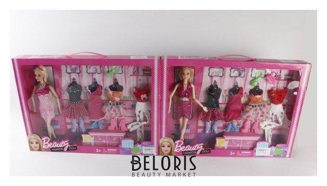 Набор Кукла гибкая с нарядами КНР Игрушки