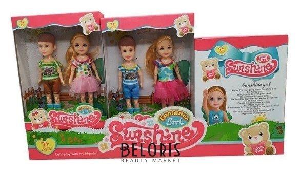 Набор 2 куклы: мальчик и девочка КНР Игрушки