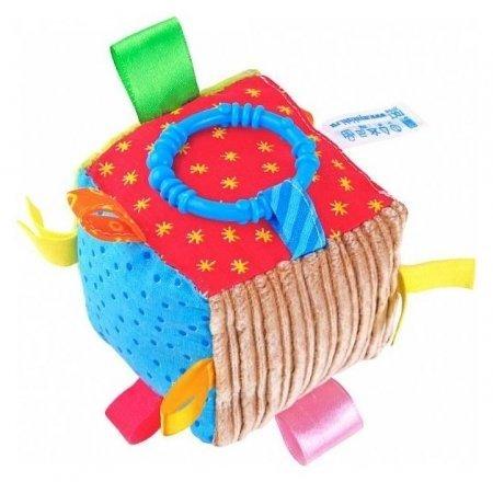 Игрушка Кубик с петельками  Мякиши