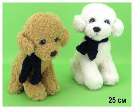 Собачка Лада с шарфиком  КНР Игрушки