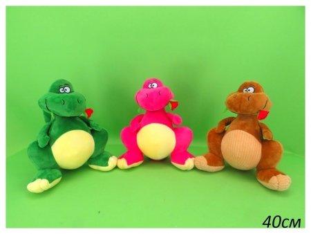 Динозавр с цветочком  КНР Игрушки