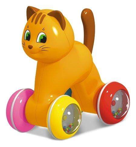 """Игрушка-покатушка """"Котик""""  Stellar"""