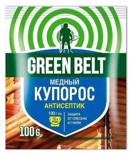 """Средство для защиты от плесени и гнили """"Медный купорос""""  Green Belt (Грин Бэлт)"""