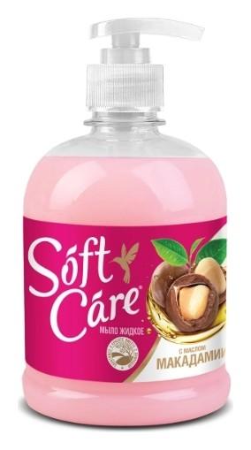 Мыло жидкое с маслом макадамии Soft Care  ROMAX