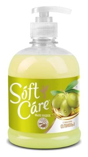 Мыло жидкое с оливковым маслом Soft Care  ROMAX