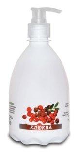 """Мыло жидкое """"Лесные ягоды"""" клюква ROMAX"""
