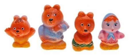 Набор резиновых игрушек Три медведя  Кудесники