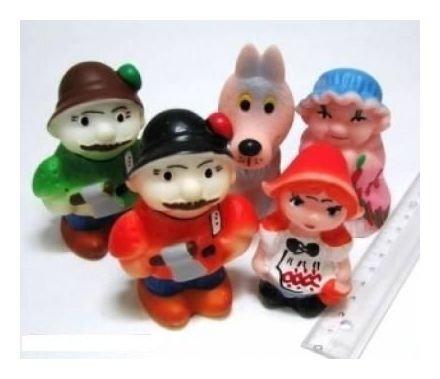 Набор резиновых игрушек Красная шапочка  Кудесники