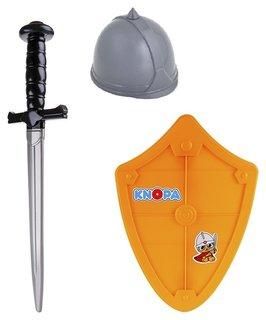 """Набор оружия """"Вояка"""" шлем, щит и меч  Knopa"""
