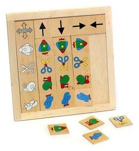 """Игра детская деревянная """"Укажи направление"""""""