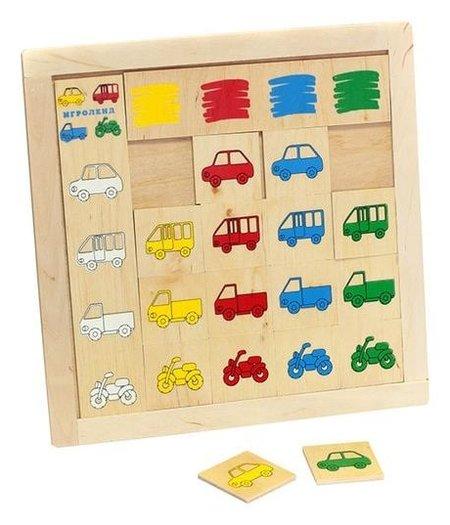 """Игра детская деревянная """"Найди гараж""""  Lam Toys"""
