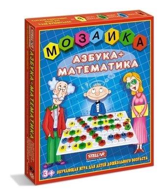 "Мозаика ""Азбука - математика""  Stellar"
