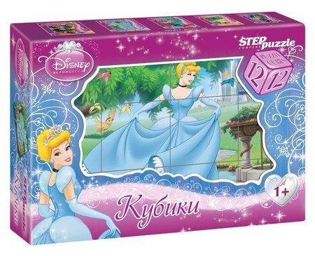 """12 кубиков Disney """"Золушка""""  Step puzzle"""