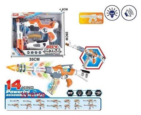 Оружие космическое со светом и звуком  Wei Te Feng