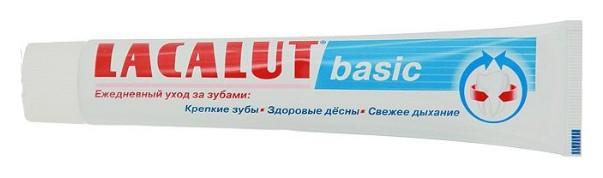 Зубная паста Lacalut Basic  Lacalut