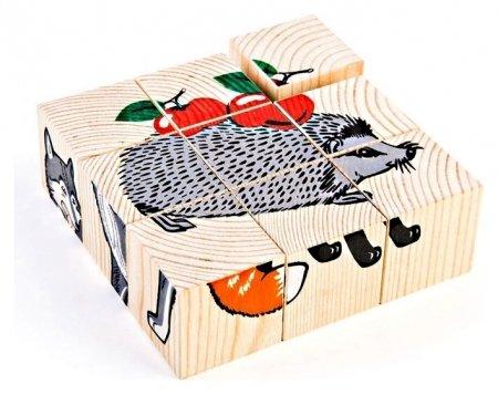Кубики Животные леса  Томик
