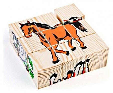 Кубики Домашние животные Томик