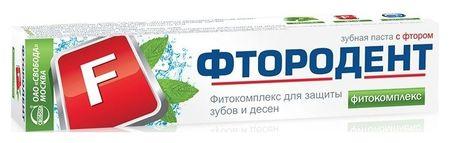 Зубная паста Фитокомплекс
