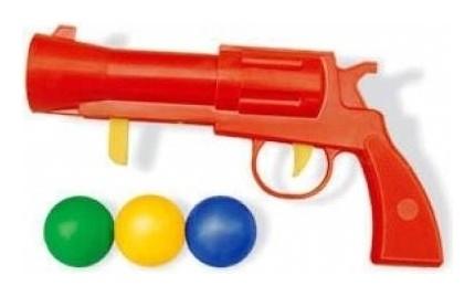Пистолетик игрушечный с шариками  Stellar