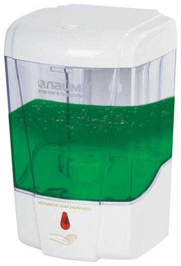 Диспенсер для жидкого мыла сенсорный Professional, наливной, прозрачный, 0,6 л  Лайма