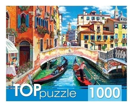 Пазлы 1000 элементов Гондолы в Венеции  Рыжий кот