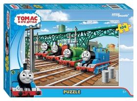 Пазл 104 элемента Томас и его друзья