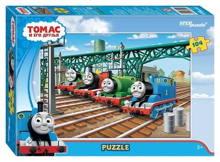 Пазл 104 элемента Томас и его друзья  Step puzzle