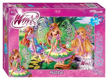 Пазл 104 элемента Winx - 2  Step puzzle