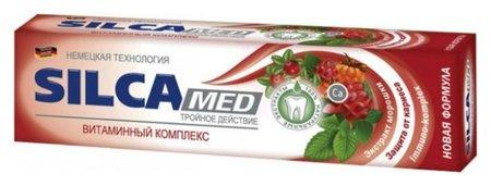 """Зубная паста """"Витаминный комплекс""""  SILCA"""