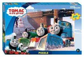 Пазлы 360 элементов Томас и его друзья  Step puzzle