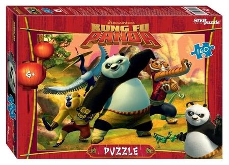Пазл 160 элементов Кунг-фу Панда  Step puzzle