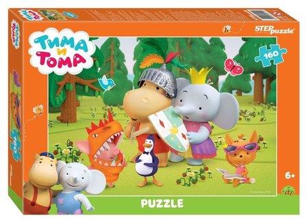 Пазл 160 элементов Тима и Тома  Step puzzle