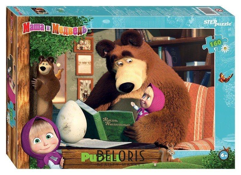 Пазл 160 элементов Маша и Медведь - 2 Step puzzle