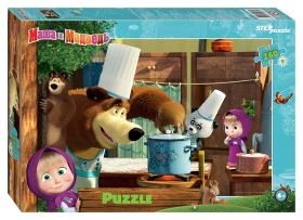 Пазл 260 элементов Маша и Медведь - 2  Step puzzle