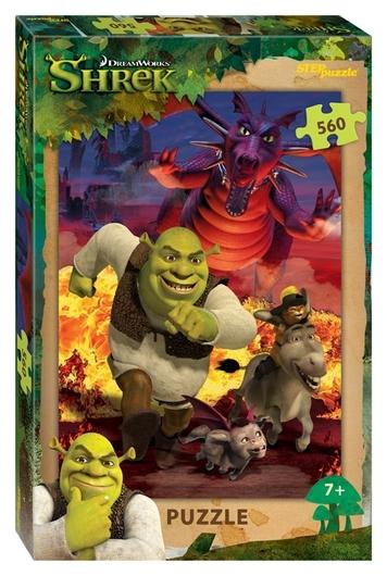 Пазл 560 элементов Shrek  Step puzzle